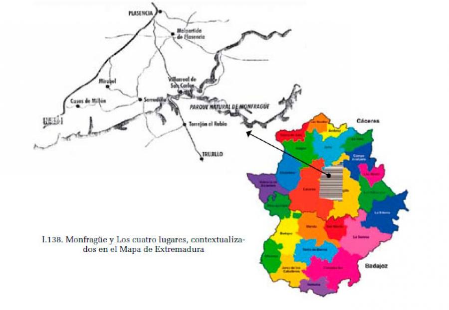 Monfragüe y los Cuatro Lugares