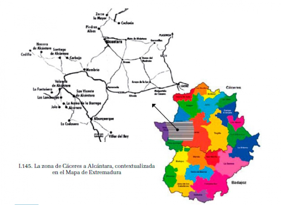 De Cáceres a Alcántara