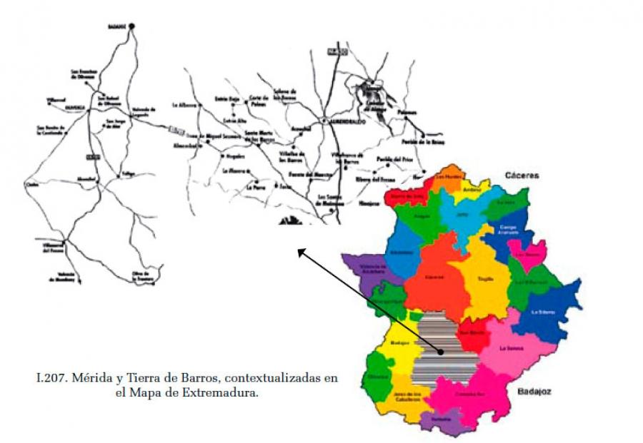 De Mérida a Tierra de Barros